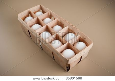 White Eggs In The Natural Package