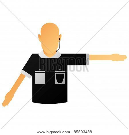 different soccer related elements on a white background