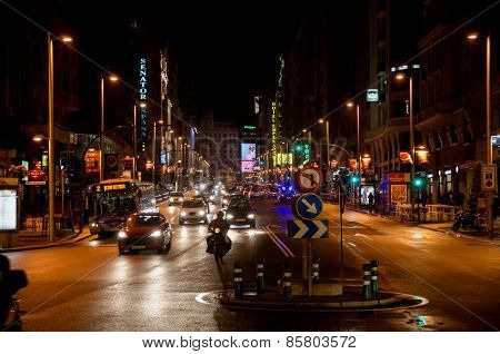 Gran Via Night Life