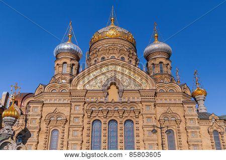 Assumption Church On Vasilevsky Island, St.petersburg