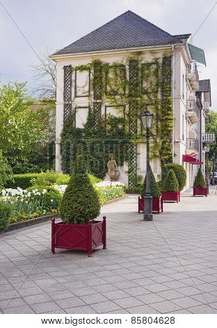 Small City Park In Baden Baden
