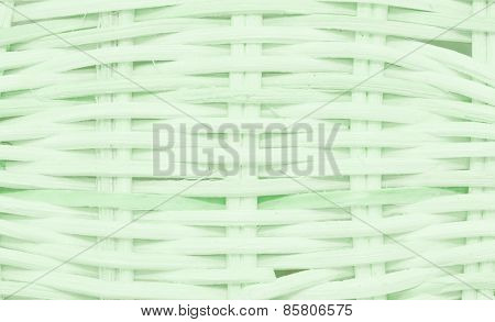 wickerwork green basket texture