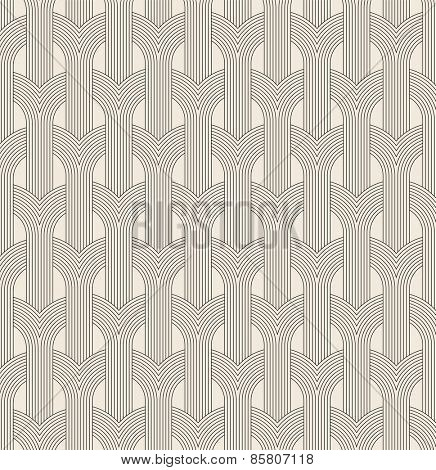 Arch seamless abstract pattern.