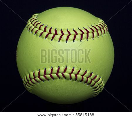 Yellow Fastpitch Softball