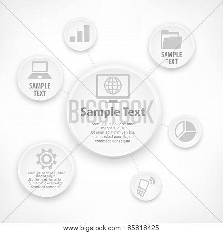 Graphic Round Elements