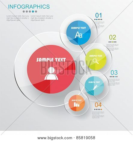 Infographic Or Web Design Template