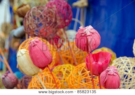 Handmade Pink Poppy
