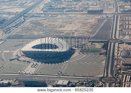 Jaber A-ahmad Stadium In Kuwait