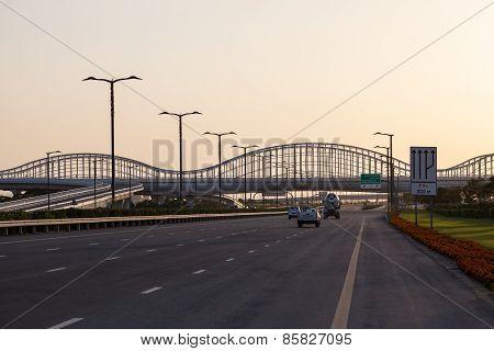 Meydan Bridge In Dubai