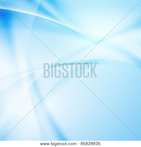 Abstract Modern Blue Light Ray Background