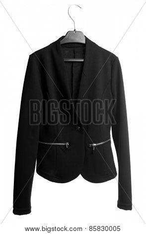 School uniform jacket, isolated on white