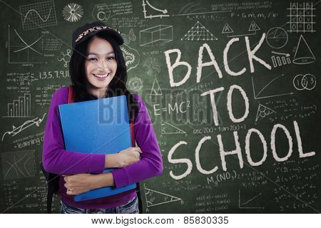 Modern School Student Back To School