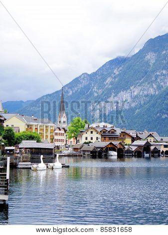 Hallstatt, Austria Beautiful Town In Europe