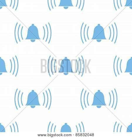 Alarmclock seamless pattern
