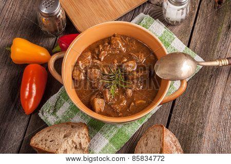Goulash Soup.