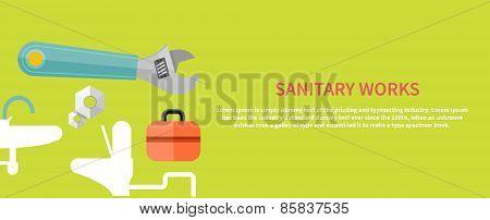 Sanitary works