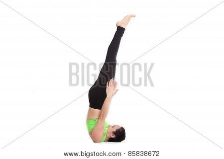 Niralamba Sarvangasana Yoga Pose