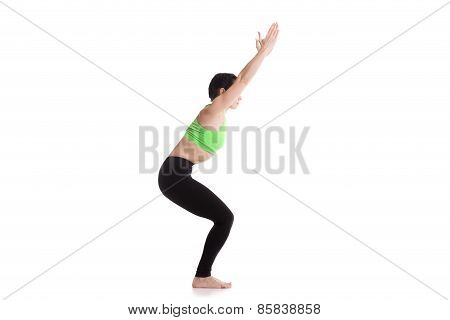 Chair Yoga Pose