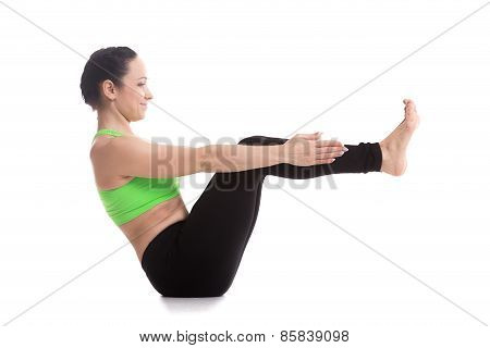 Boat Yoga Pose