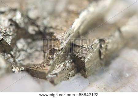 Iron Pyrite, Is An Iron Sulfide With The Chemical Formula Fes2