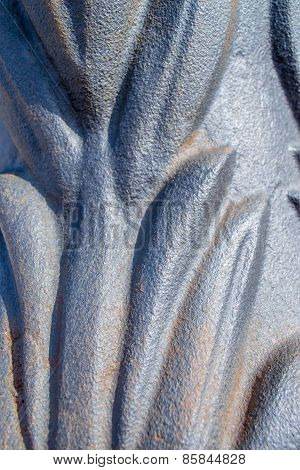 Cast Iron Lamppost Detail