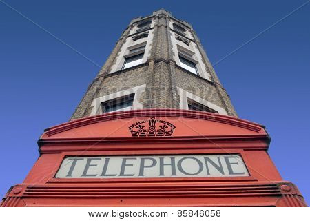London telephone kiosk