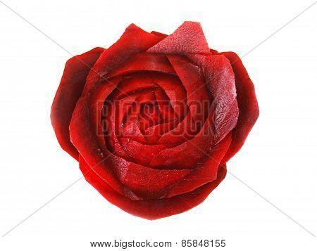 Rose Made Of Beet