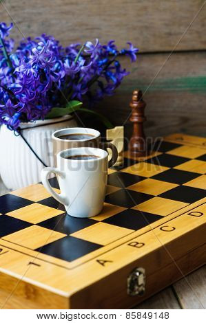 Chess And Coffee