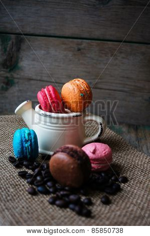 Colorful Macaroons