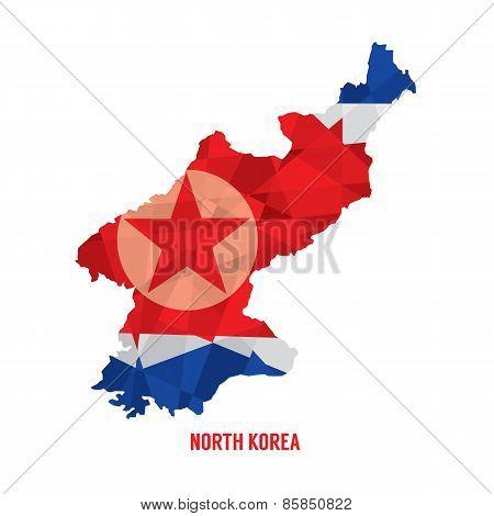 Map Of North Korea.