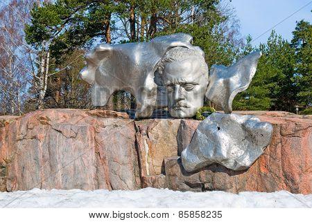Helsinki. Finland. Sibelius Monument