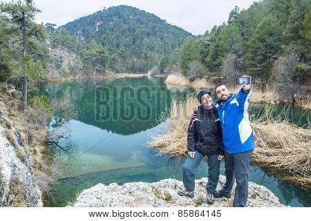 Selfie At The Lake
