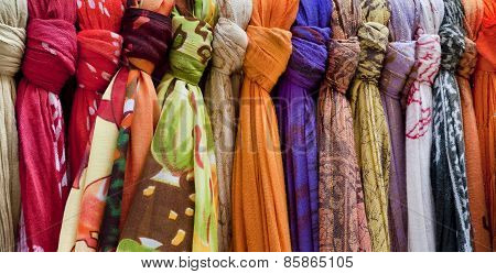 Colored Pashminas