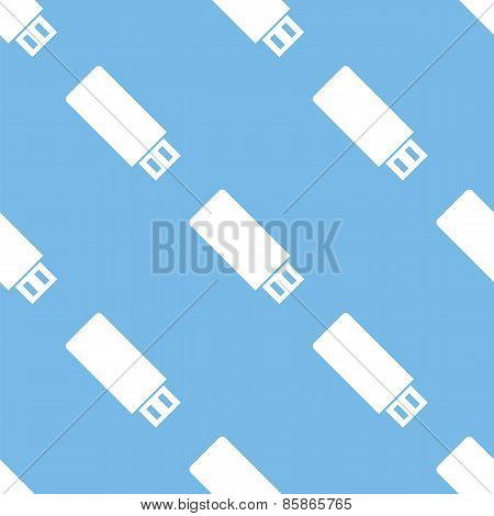 Flash drive seamless pattern