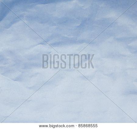 Paper Texture. Blue Paper Sheet.