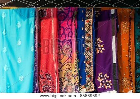 Colorful Different Sari