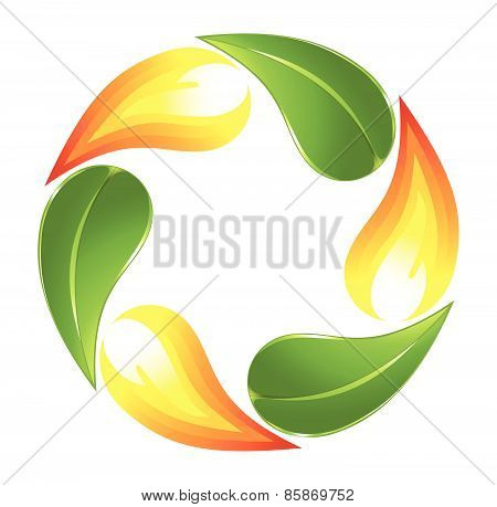 Fire and plant cycle