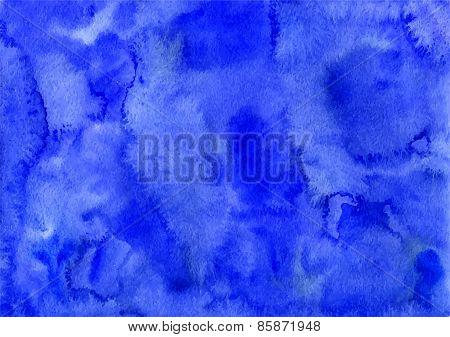 Blue Watercolor