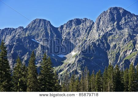 High Peaks In The Polish Tatras Mountains