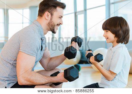Exercising Is Fun.