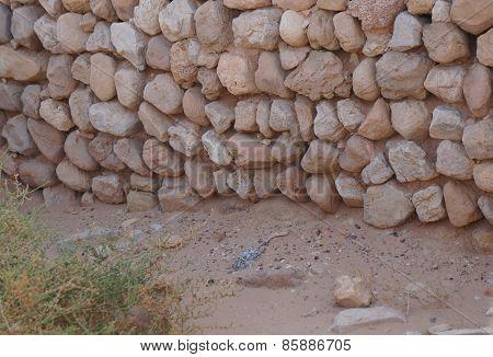 Archeological site near Eilat