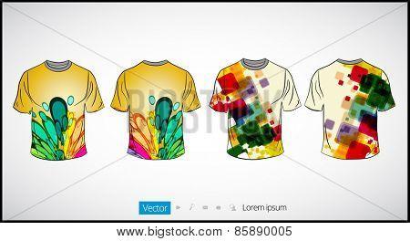 Man's shirt template