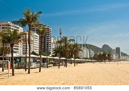 Copacabana Beach in the Morning