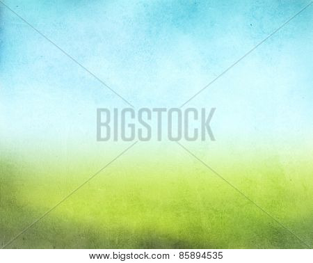 Green and blue grunge texture and background for your design
