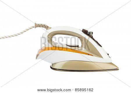 Flat iron isolated on white background