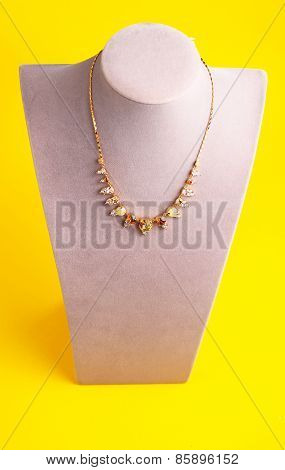 Colorful  Costume Necklace