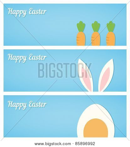 Blue Easter Banners.eps