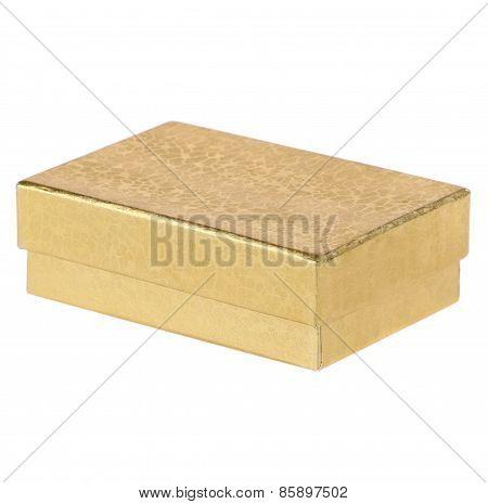 Gold Present Gift Box
