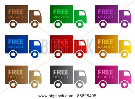 Free Delivery Web Graphics