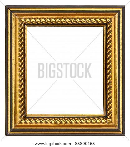 Gold Rope Picture Frame